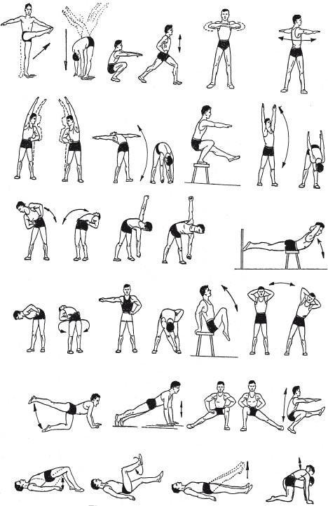 Упражнении для лечения простатита
