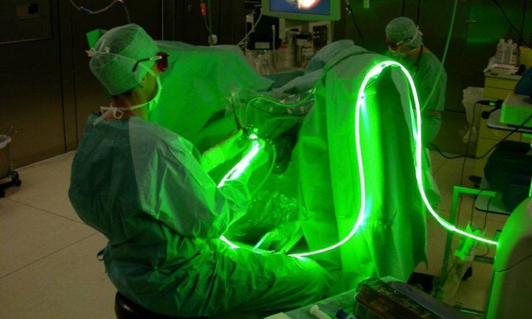 Лечение простатита с помощью лазера