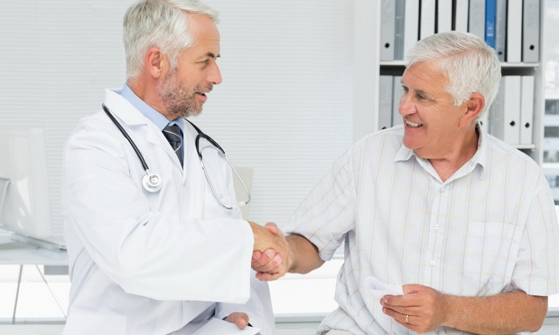 Трансуретральная резекция прошла успешно и мужчина благодарит врача!